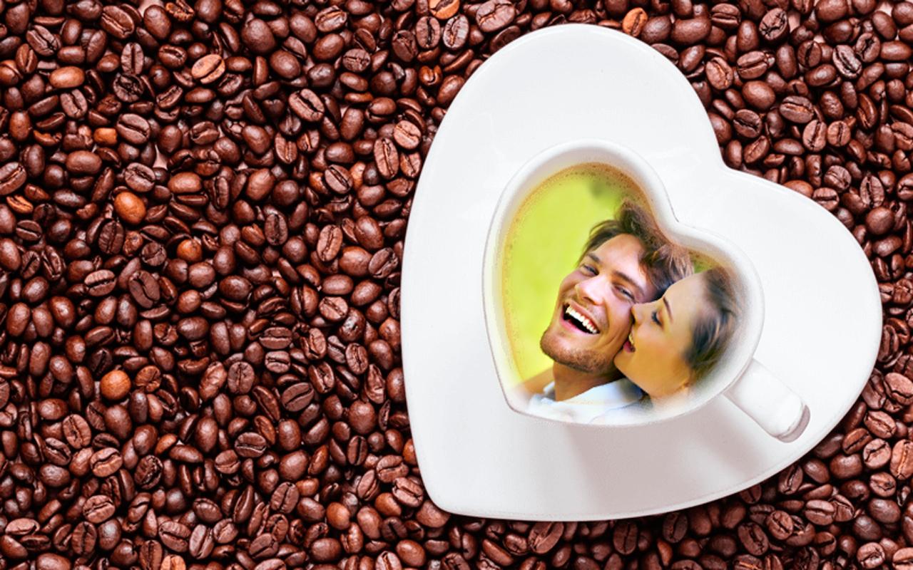 Coffee cup frames - Coffee Cup Photo Frames Screenshot