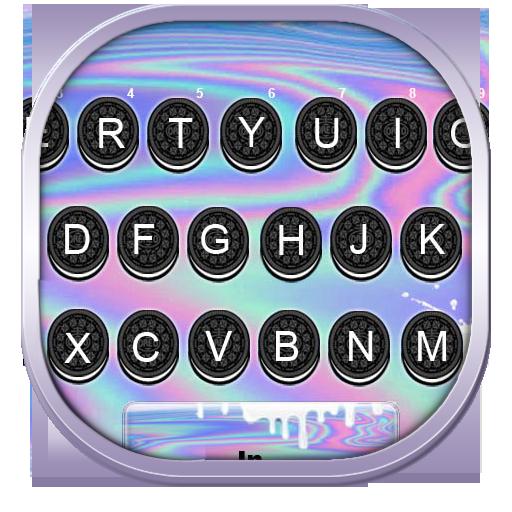 Milk Cookie Keyboard Theme Icon