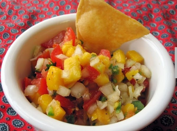 White Corn Salsathat's Different From All Yours Recipe