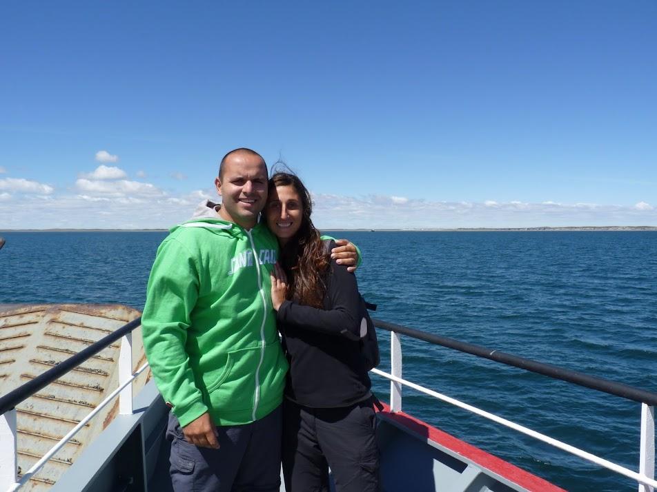 ferry por el Estrecho de Magallanes
