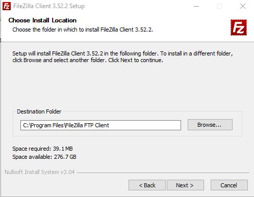 Cara Install FileZilla image 4