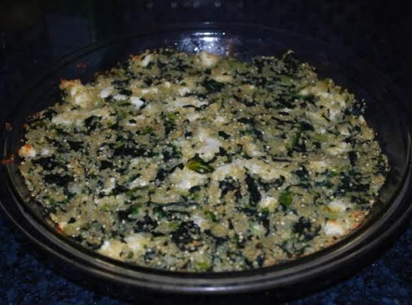 Greens And Quinoa Pie
