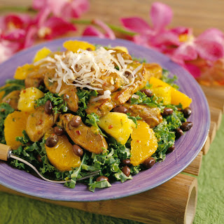 Brazilian Pork Salad with Tangerine Vinaigrette.