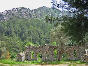 Photo: Remains of the Granary probably built by Hadrian *********** Resten van de graanopslagplaats, waarschijnlijk gebouwd door Keizer Hadrianus.