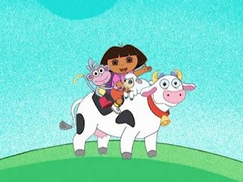 Dora und das kleine Lamm