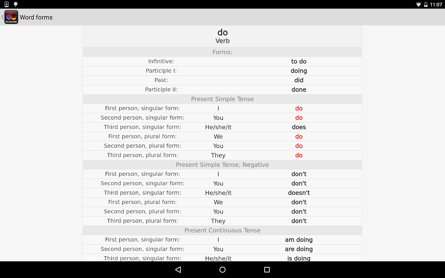 PASSWORD English Dictionaries- screenshot