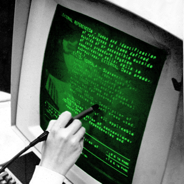 Photo: Hypertext Editing System (HES) 1969 photo by grl