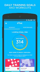Peak - Brain Training Screenshot 4