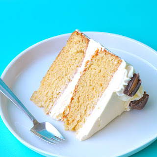 Caramel Cake with White Chocolate Buttercream Recipe