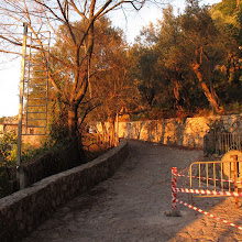 Photo: sbarra a via Campanella (Termini, Massa Lubrense)