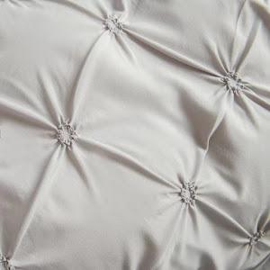 Lenjerie de pat Premium, 6 piese, finet, 200x220 cm, GRI