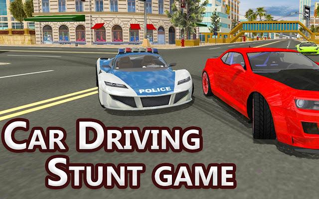 قيادة السيارة لعبة حيلة