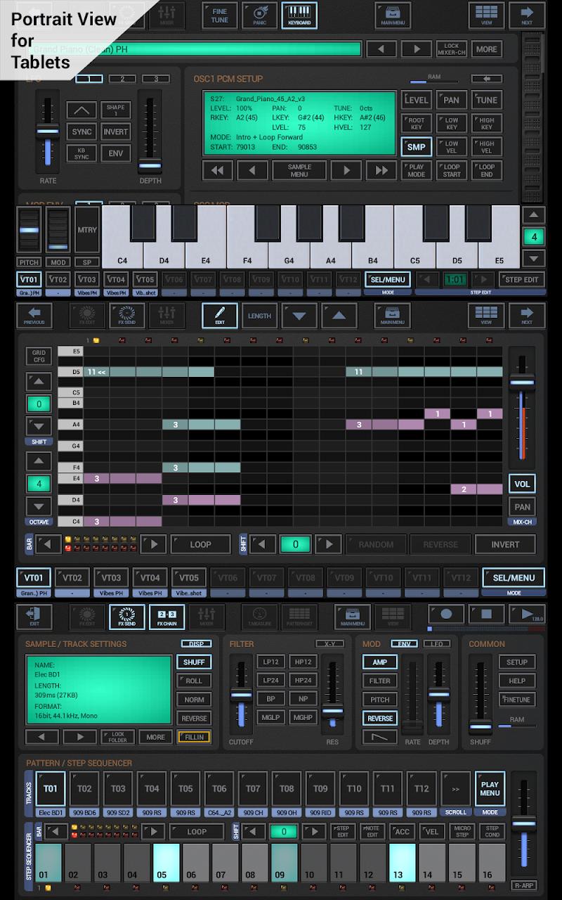G-Stomper Studio Screenshot 0