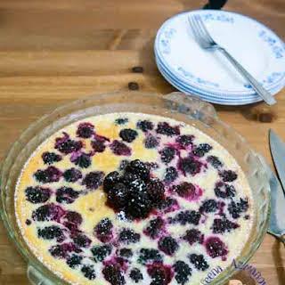 Blackberry Tart in Three Easy Steps.