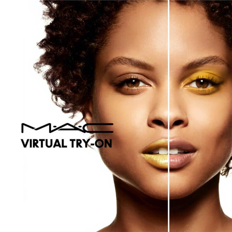 MAC Virtual try-on