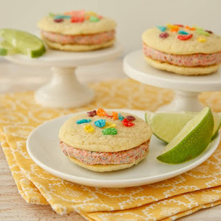 Coconut-Lime Rainbow Whoopie Pies