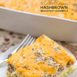 Hash Brown Breakfast Casserole Cream Cheese Recipes.