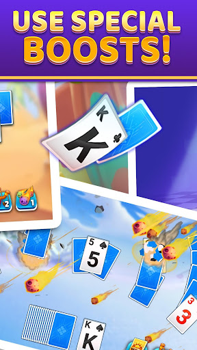Puzzle Solitaire - Tripeaks Escape with Friends android2mod screenshots 4