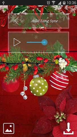 android Christmas Hymns Holiday Themes Screenshot 4