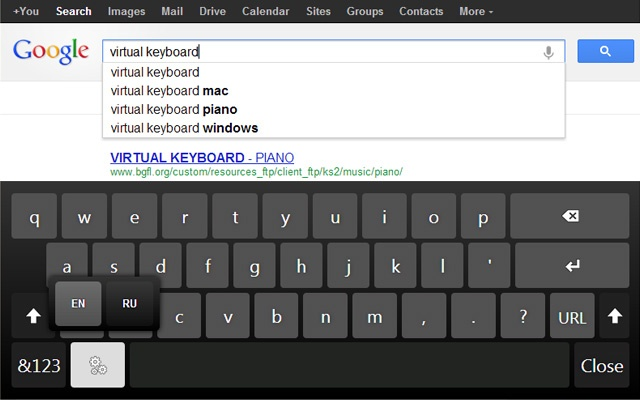 how to put on screen keyboard windows 10