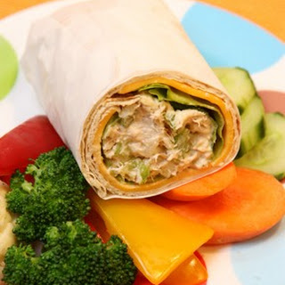 Tuna Salad and Cheese Roll-Ups