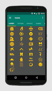 Golden Icons - Icon Pack