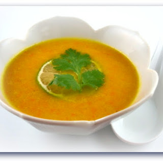 Curried Yellow Pepper Soup.
