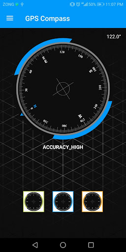 Compass Sensor for Android Digital Compass GPS 360 1.1.1 Screenshots 5