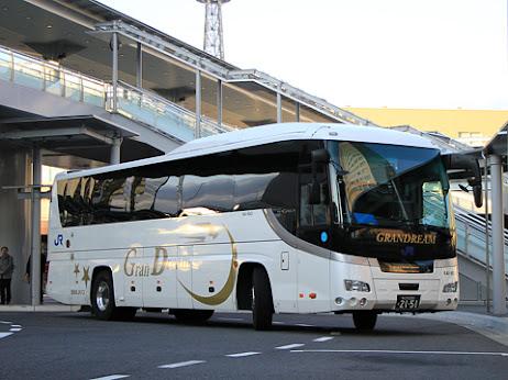 西日本JRバス「グラン昼特急大阪6号」 2151