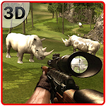 Wild Rhino Hunter Simulator Icon
