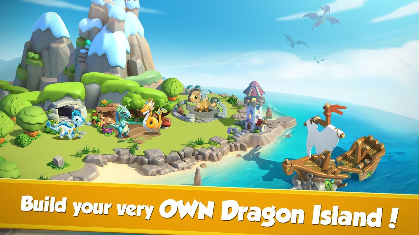 Screenshots of Dragon Mania Legends for iPhone
