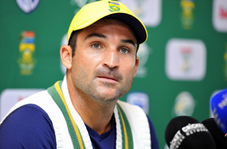 Dean Elgar of South Africa during day 1 of the 3rd Sunfoil Test match between South Africa and Australia at PPC Newlands on March 22, 2018 in Cape Town, South Africa.