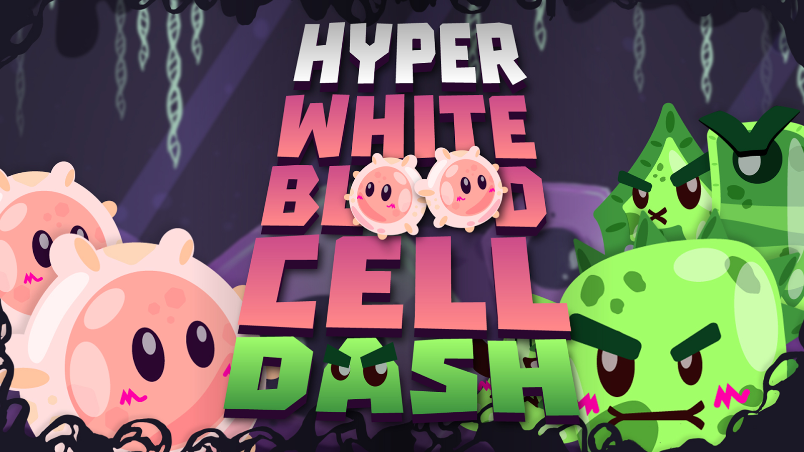 Hyper White Blood Cell Dash- screenshot