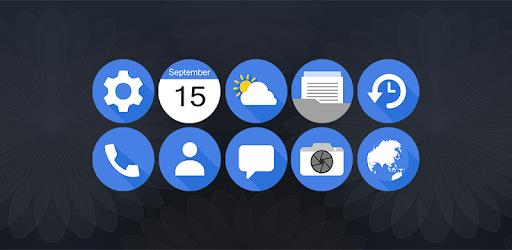 Six - Icon Pack (era 0.59€ e agora está GRÁTIS) em destaque na Play Store 1