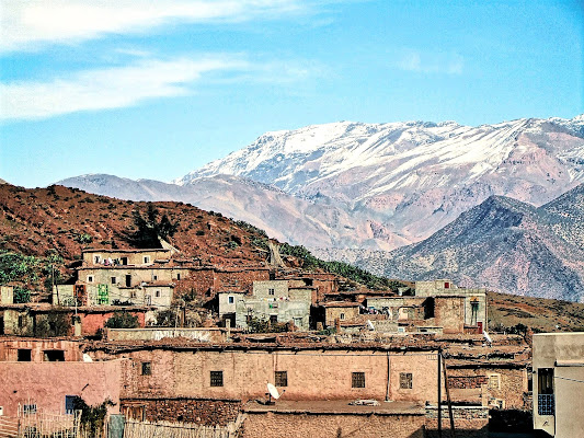 villaggio marocchino di Ale Brigante