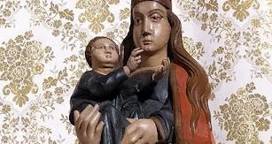 La Virgen del Mar, tras su reciente restauración.