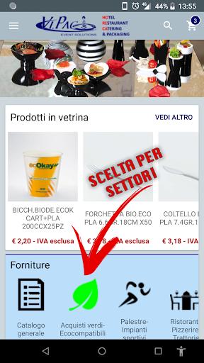 VIPAC - Il nuovo E-commerce screenshots 1