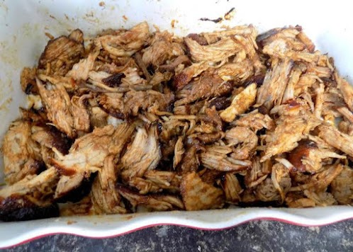 Pulled Pork with Jack Daniel's Sauce