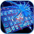 Neon Spider keyboard Theme apk