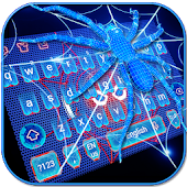 Neon Spider keyboard Theme