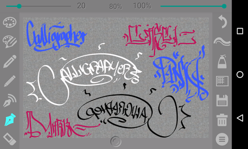Calligrapher Screenshot
