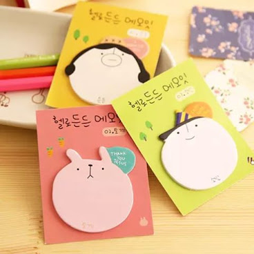<No.25 Korean Memo Sticker>