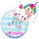 Lovely Cute Unicorn Keyboard Theme APK