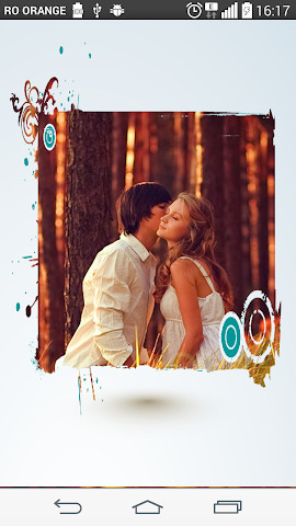android Blue label Photo Frames Screenshot 0