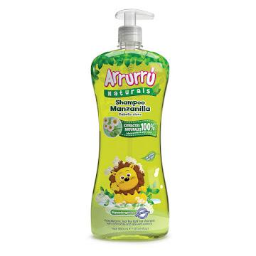 Shampoo Arrurrú Manzana X800ml