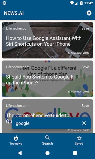 NEWS.AI screenshot 2