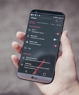Edge Theme LG G6 G5 V20 V30 Screenshot