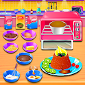 Chocolate Lava Cake Recipe - Cooking Game for Kids icon