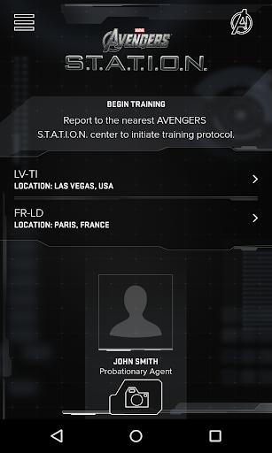 AVENGERS S.T.A.T.I.O.N. MOBILE screenshot