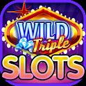 Wild Triple Vegas Slots: Free Casino Slot Machines icon